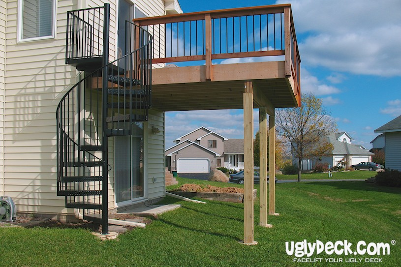 Outdoor Spiral Staircases