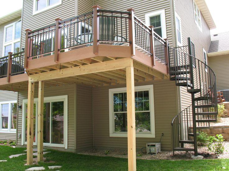 Stair case design | outdoor-spiral-stairs