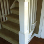 box newel post designs