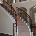 curved staircase cost