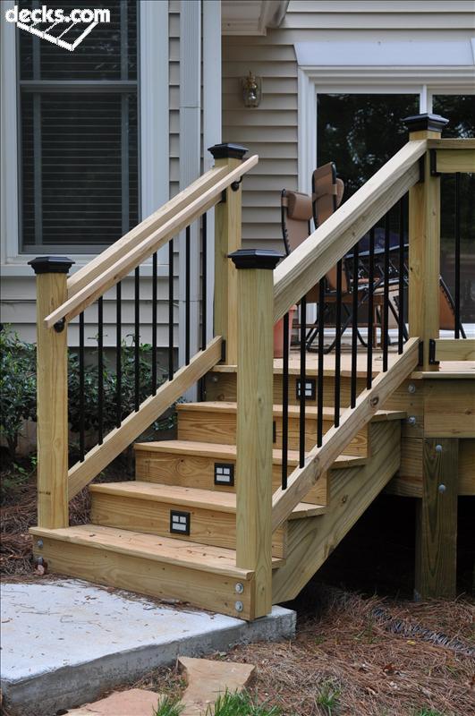 Deck Stair Railing