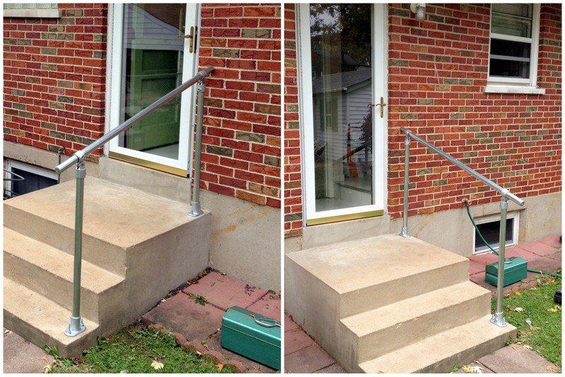 exterior stair railing – Staircase design