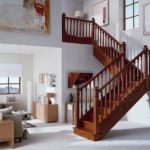 house staircase railing design