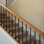 indoor banister railing