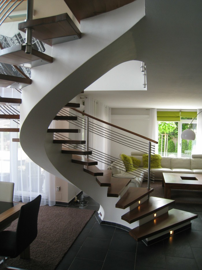 Indoor Spiral Staircase