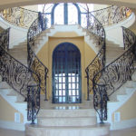 indoor staircase railings