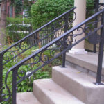 iron handrails for stairs