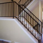 iron railing for stairs