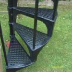 iron spiral staircase for sale