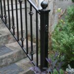 iron stair railing