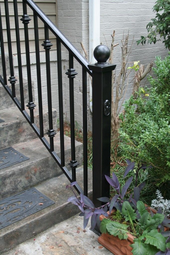 Iron Stair Railing Staircase Design