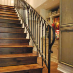 iron stairs design