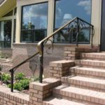 iron stairs outdoor