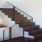 metal banisters for stairs