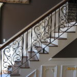 metal railing for stairs