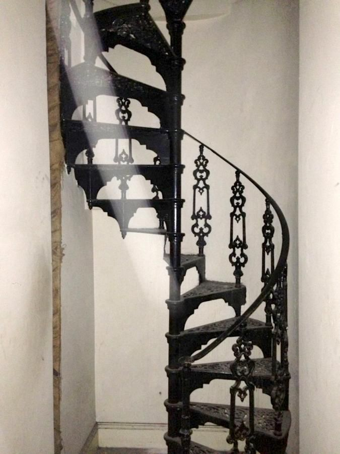 Metal Spiral Staircase For Sale