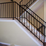 new staircase railing