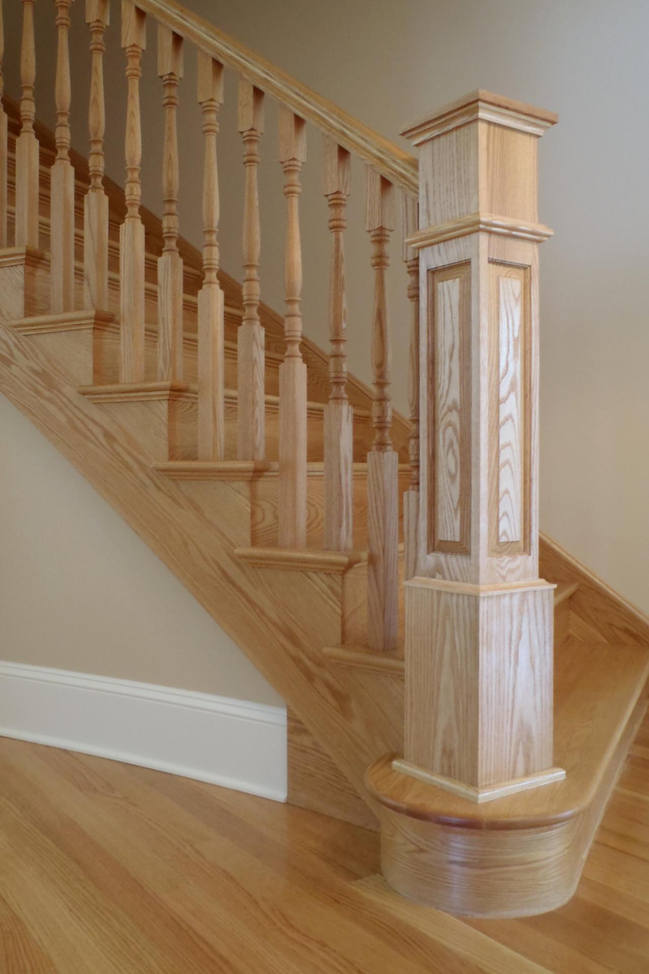 Exceptionnel Newel Post Designs
