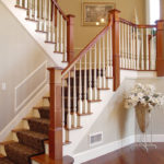 newel post stairs