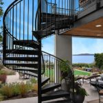 outdoor metal staircase kits