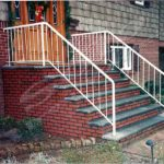 outdoor railings for stairs