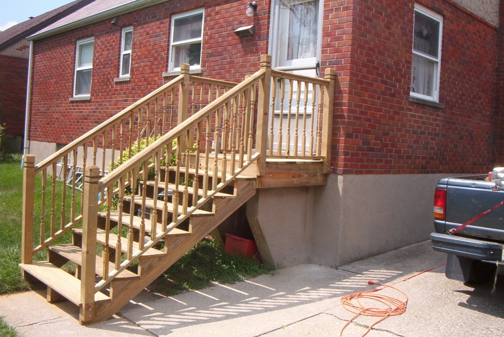 Outside Stair Railing