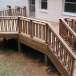 porch stair railing