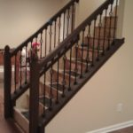railing for stairs inside
