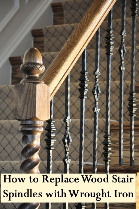 Replace Stair Railing
