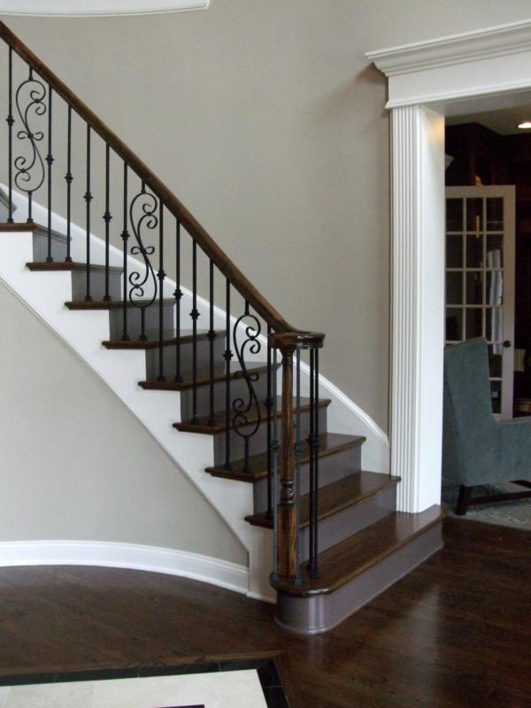 Spiral Staircase Handrail