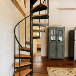 spiral stairs for small spaces