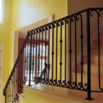 stair iron railing