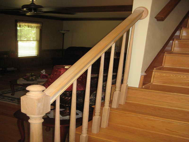 stair railing installation - Staircase design
