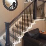 stair railing post