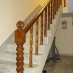 wooden handrails for stairs interior