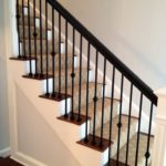 wooden handrails for stairs