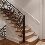 wrought iron handrails for stairs