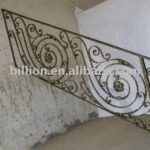 wrought iron stair parts