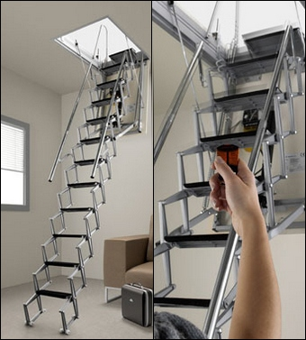 In Addition, The Solver Includes The Ability Of Independent Power Supply  And Automatic Security System. Attic Ladders With Electric Drive Are The  Most ...