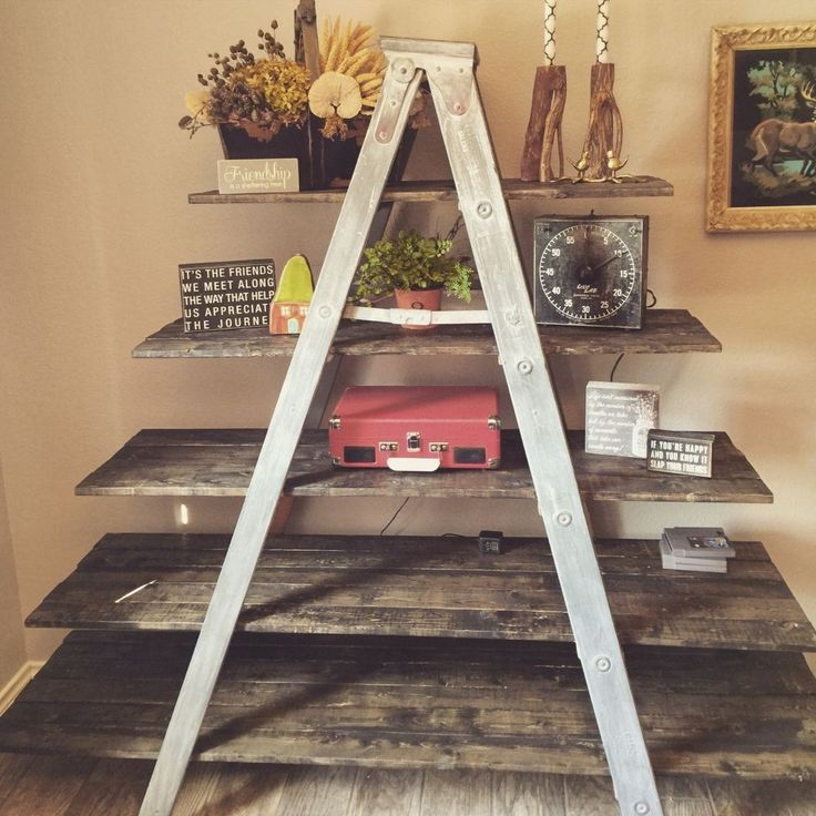 Old Wooden Ladder