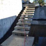 building concrete steps