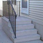 concrete front steps cost