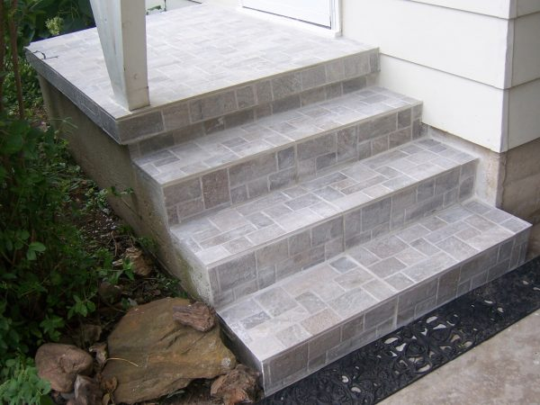 Concrete Stairs In A Private House Staircase Design