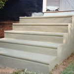 concrete stair treads