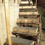 concrete stairs diy