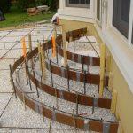 concrete stairs exterior