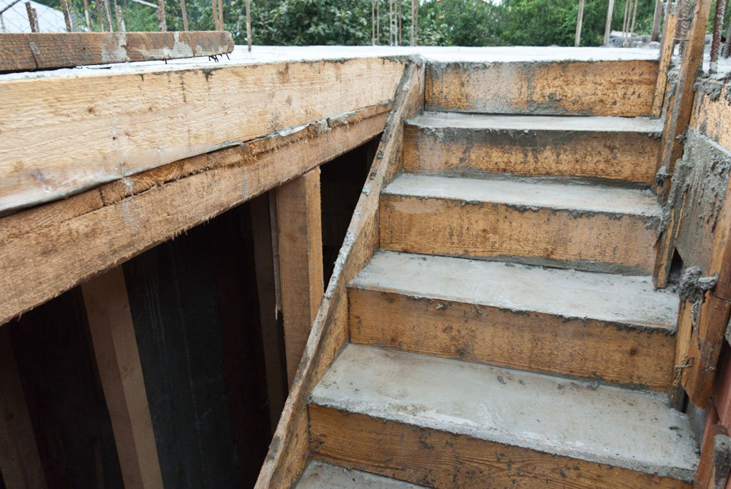 How To Make Formwork For Concrete Stairs Staircase Design