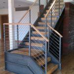 industrial metal stairs design