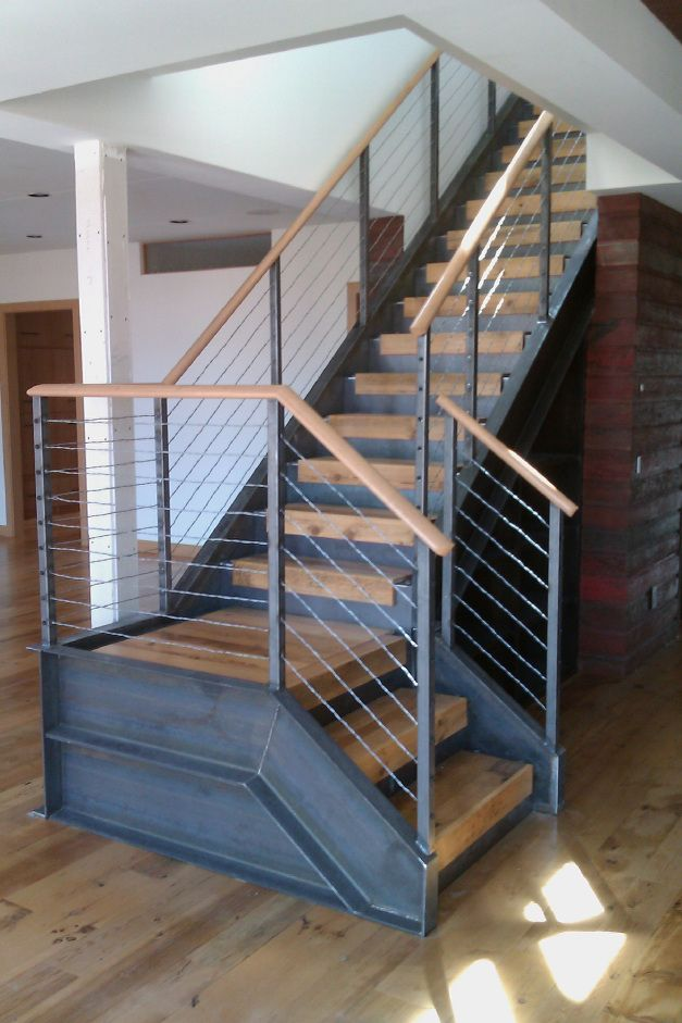 Industrial Metal Stairs Design Staircase Design
