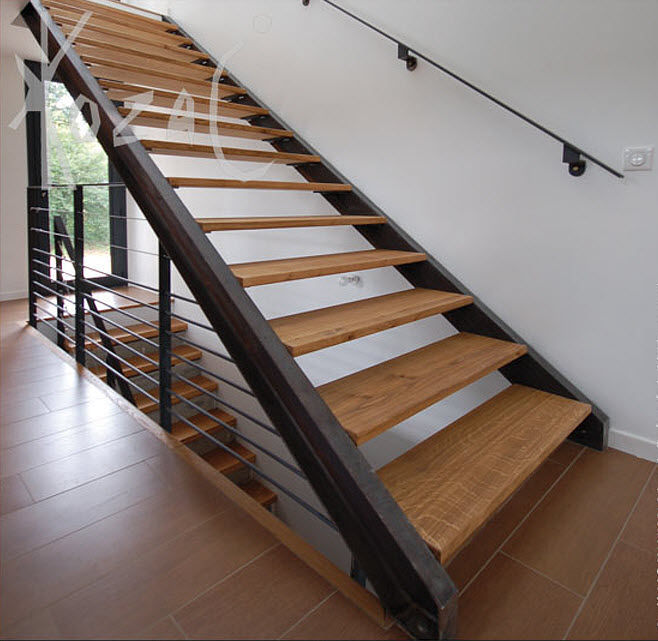 how to build aluminum stairs